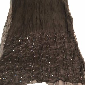 Stunning Black wrap or scarf. Sequins.
